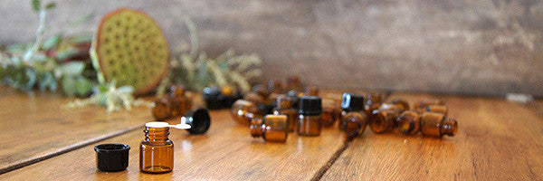 Aroma Bottles Amber Glass Bottles Essential Oils DIY Household and self care all natural