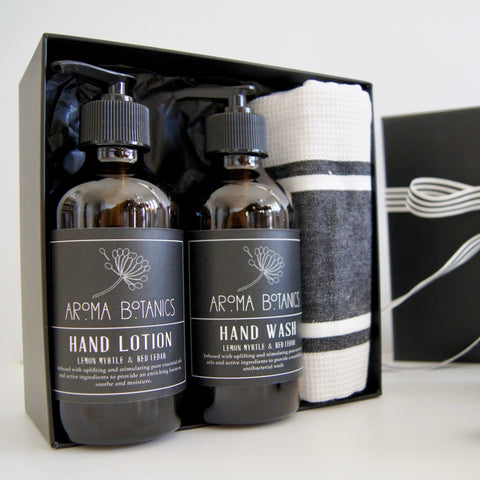 Aroma Botanics Lemon Myrtle and Cedar Kitchen Gift Box