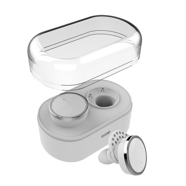 Q800 TWS Mini Wireless Twins Stereo Earbuds with Charging Case