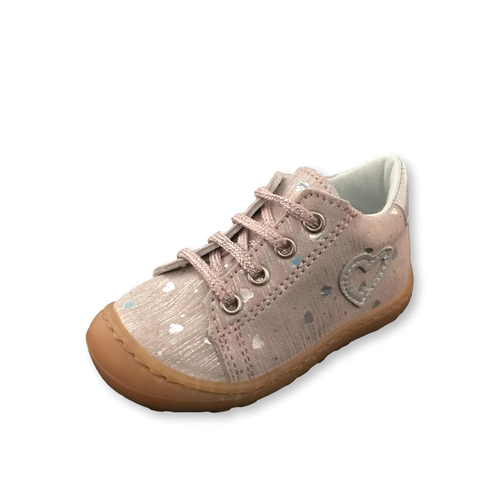 Bopy JouJou Pale Pink Lace-up Shoes. Cooshoo kids shoes.