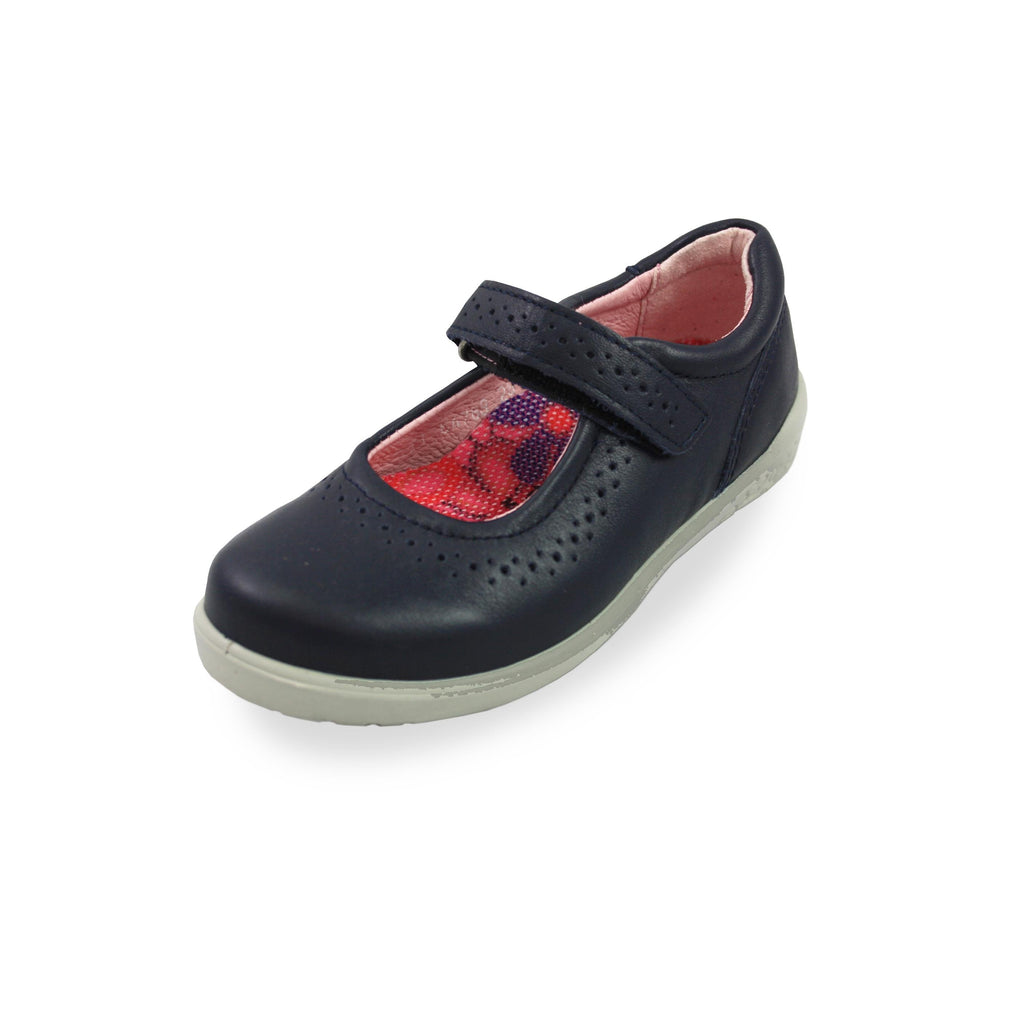 Ricosta Leila Navy Mary Jane Shoes. Cooshoo kids shoes.