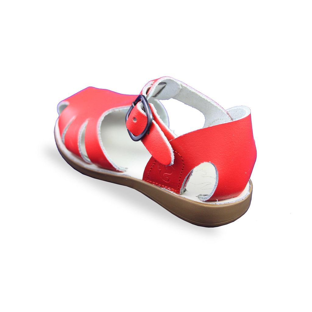 Heel of Samphire Celso Red Waterproof Closed-Toe Sandals. From Cooshoo kids shoes.