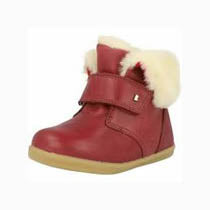 Bobux I-Walk Desert Arctic Sherbert Burgundy Red Boots. Cooshoo children's shoes.