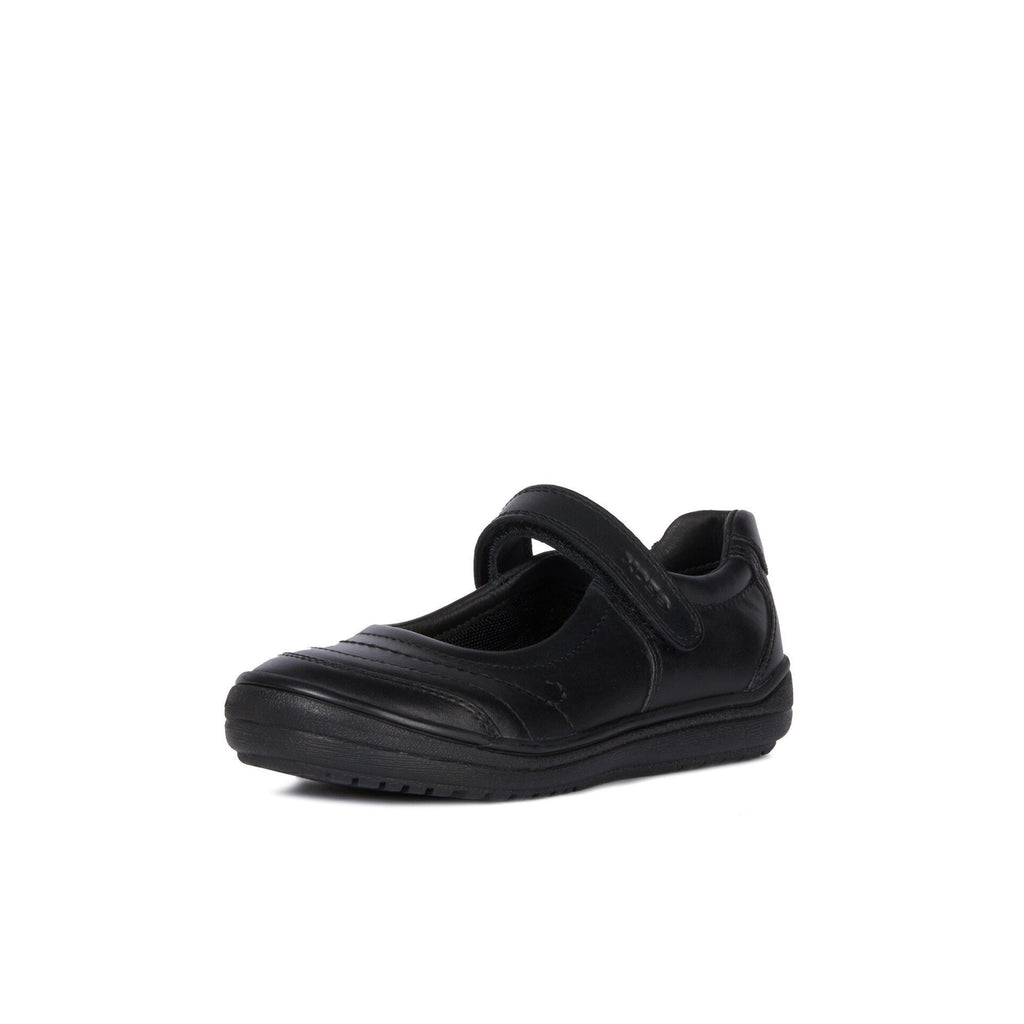 GEOX Hadriel Black Mary-Jane School Shoes. From Coosho fitted School Shoes.