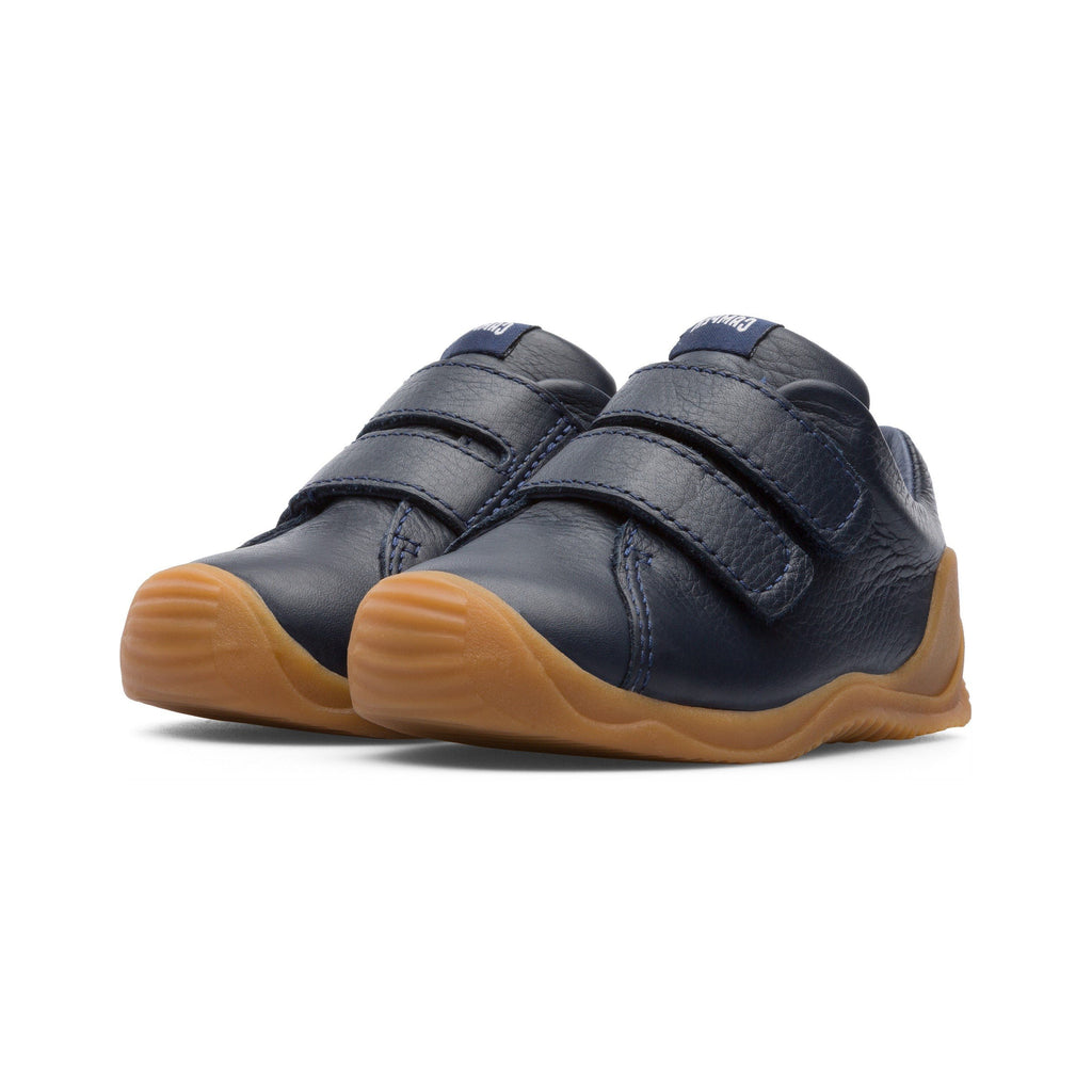 Camper Sella Hypnos Dadda Navy Blue Low-tops. Cooshoo children's shoes.
