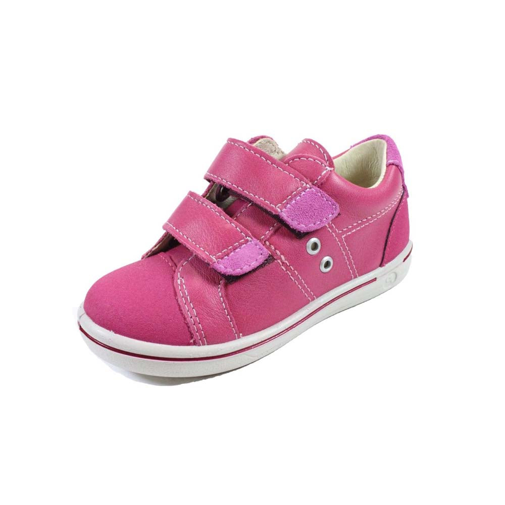 Ricosta Nippy Pink Trainer Shoes. Cooshoo kids shoes.