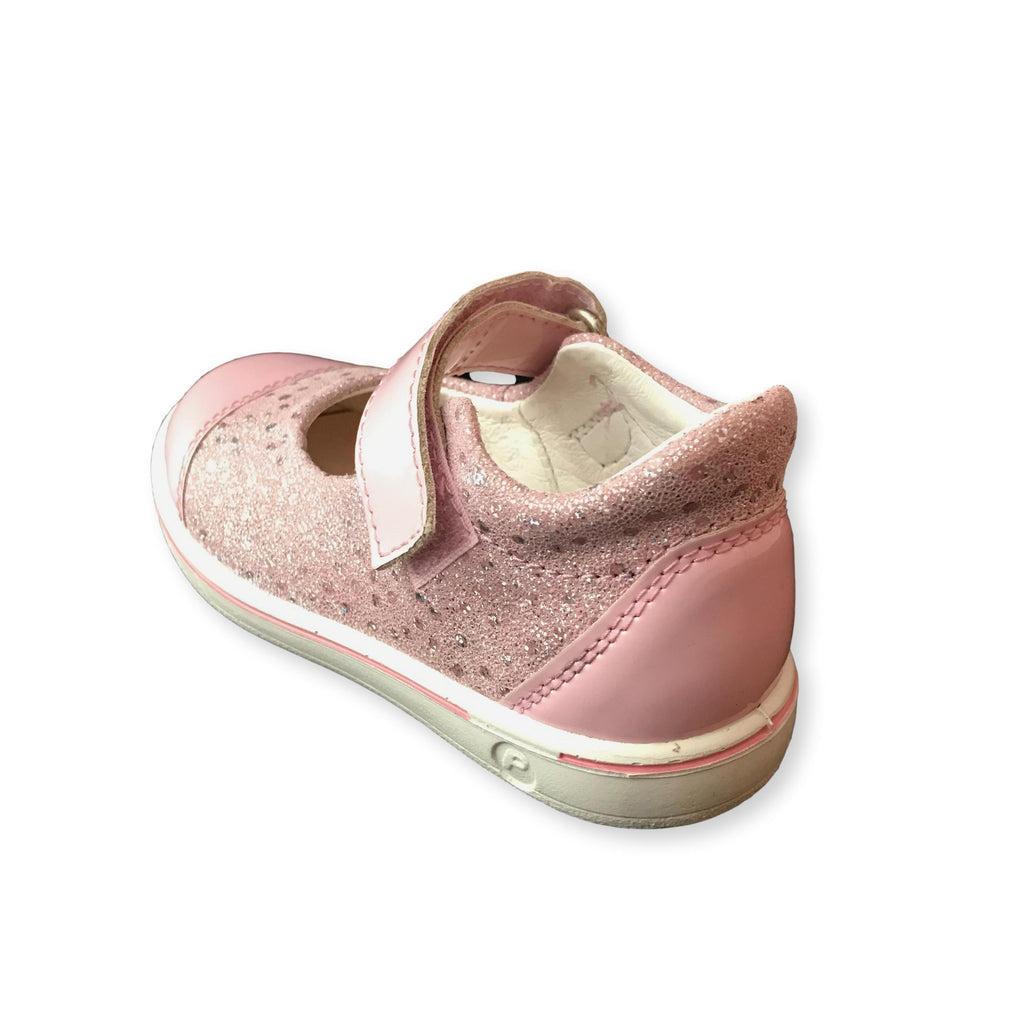 Heel of Ricosta Nippy Pink Corinne Shoes. Cooshoo kids shoes