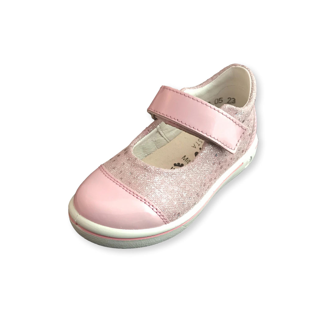 Ricosta Nippy Pink Corinne Shoe. Cooshoo kids shoes