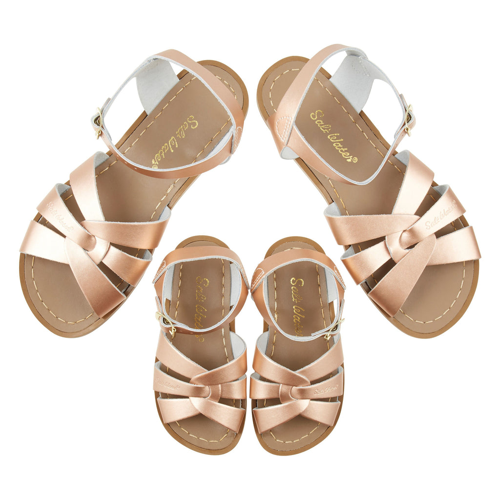 Salt-Water Originals Rose Gold Water Sandals