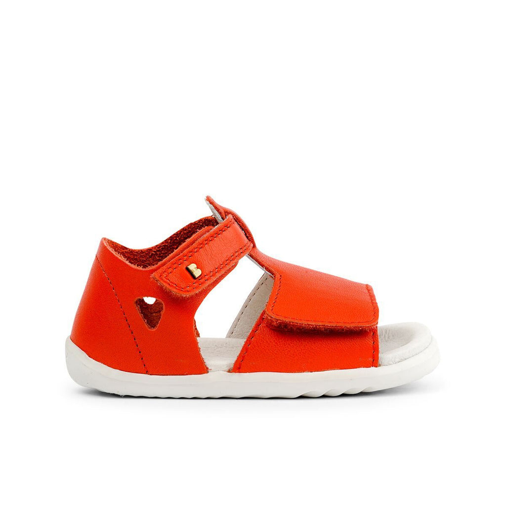 Bobux Step Up Mirror Orange Sandals