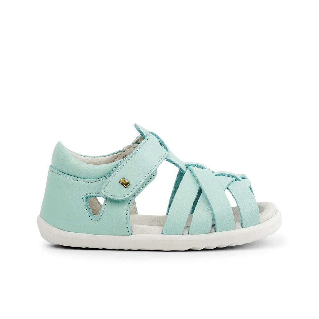Bobux Step Up Tropicana Green Mint Sandals