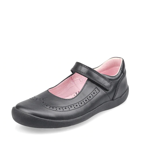 Start-Rite Spirit Black Mary-Jane School Shoes. Cooshoo kids school shoes.
