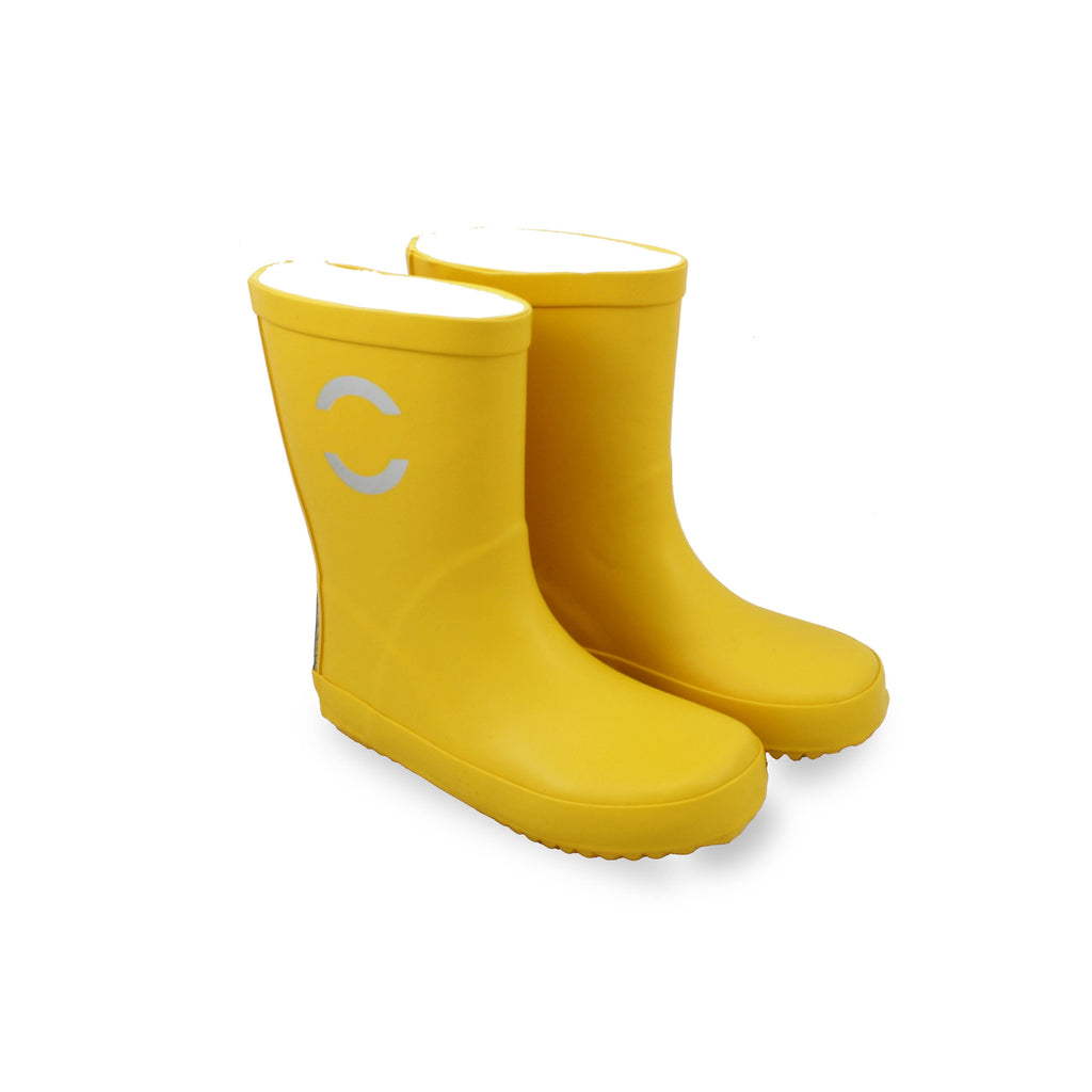 Mikk-Line Wellies Sunflower-Toddlers-Mikk-Line-EU19 (UK3)-Yellow-Cooshoo