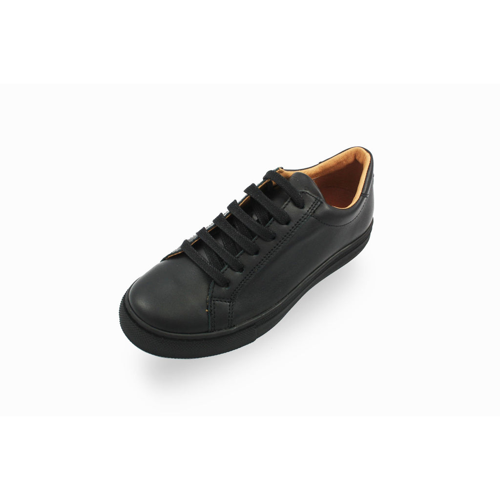 Froddo Black Lace-up Sneaker Style School Shoe. From Cooshoo fitted childrens school shoes.