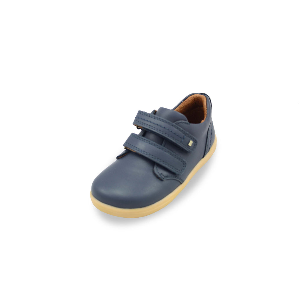 Bobux I Walk Port Navy Blue Shoe. Cooshoo kids shoes.