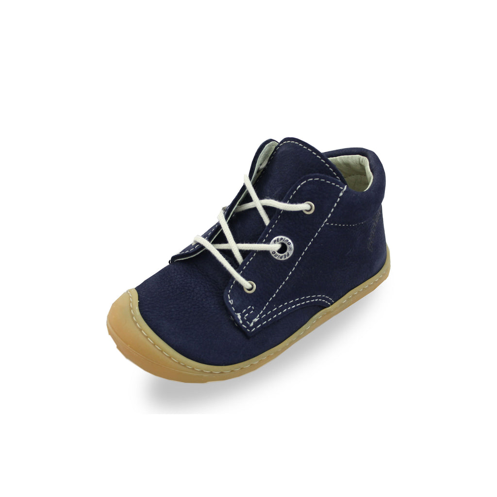 Ricosta Cory Navy Blue Low-Top Boots. Cooshoo children's shoes.
