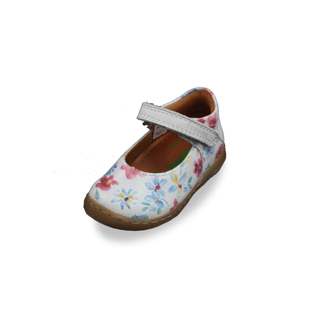 Froddo Flower Patterned Mary-Jane Shoes. Cooshoo kids shoes.