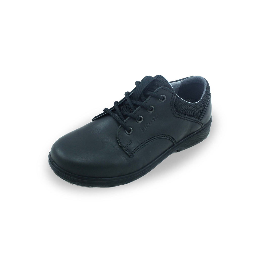 Ricosta Harry Black Lace-up School Shoe. From Cooshoo fitted childrens school shoes.