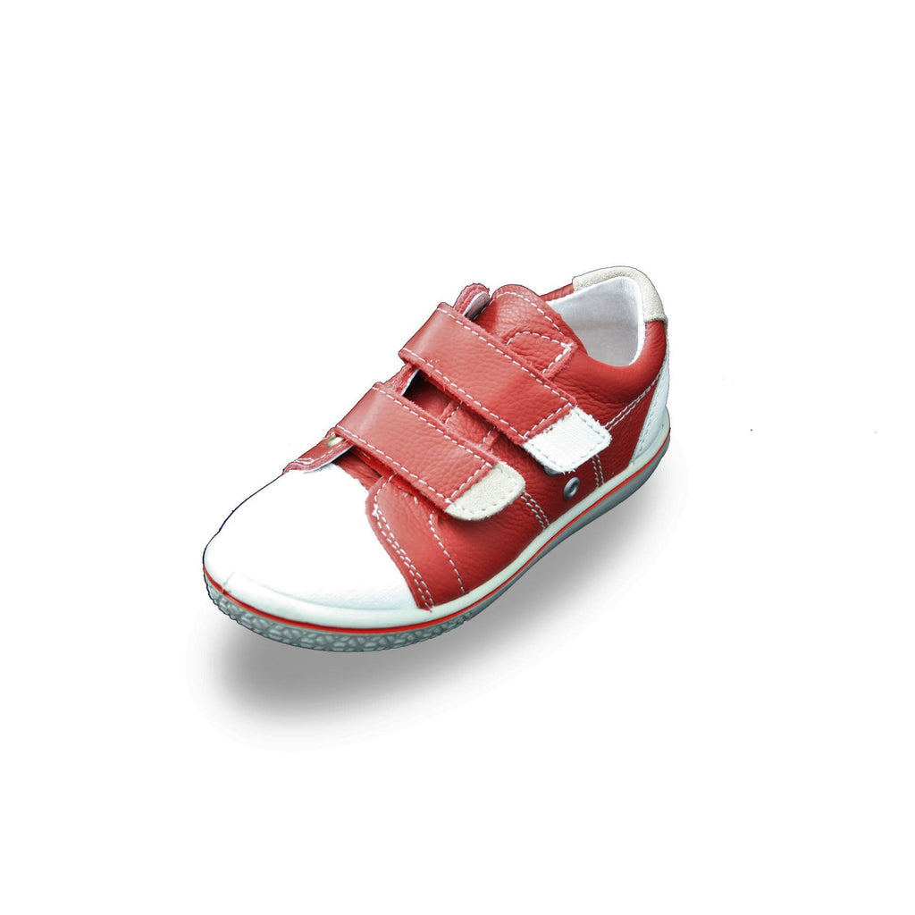 Ricosta Nippy Red Trainer Shoes. Cooshoo kids shoes.