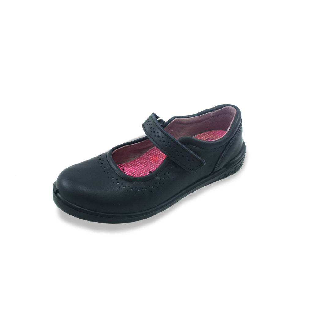 Ricosta Lillia Black School Shoes. Cooshoo school shoes.