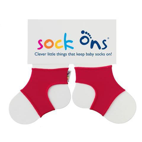 Red Sock Ons. From Cooshoo fitted children's shoes