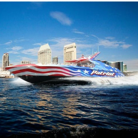 Patriot Jet Boat Thrill Ride - SAT & SUN ONLY