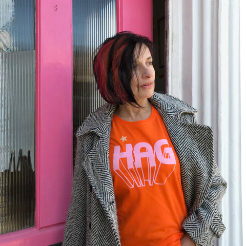 Hag t shirt for beautiful older women