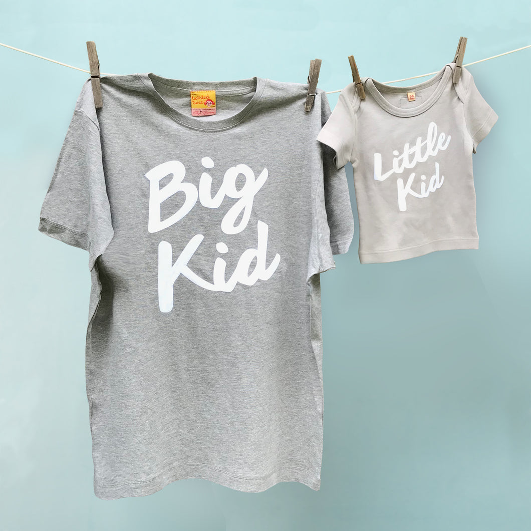 7a326f0800 Big Kid / Little Kid matching t shirts for dad and child – TwistedTwee