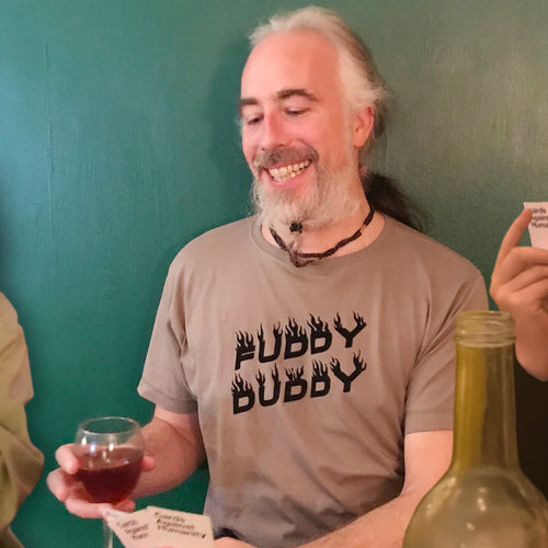 Fuddy Duddy t shirt for older men