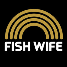 'Fish Wife' ladies t shirt for spirited older women