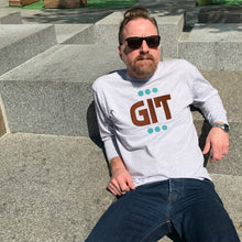 'Git' slogan men's t shirt for compassionate older guys