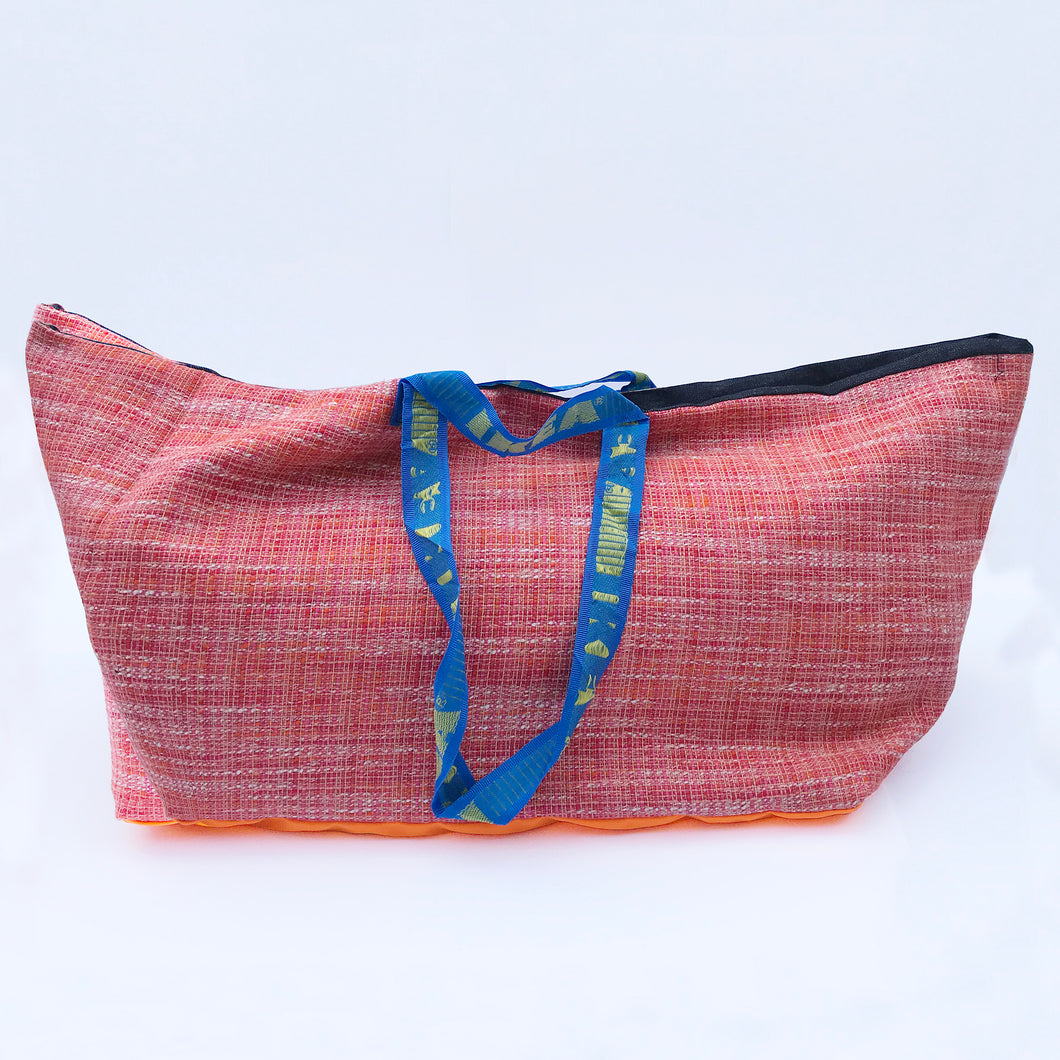 Vintage IKEA bag - red and pink wool