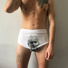 Jeremy Corbyn's face on Political Pants
