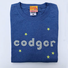 Codger slogan t shirt for older men