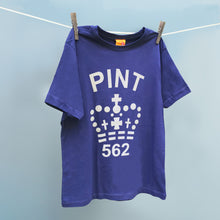 Range of single Pint organic cotton t shirts for men and women