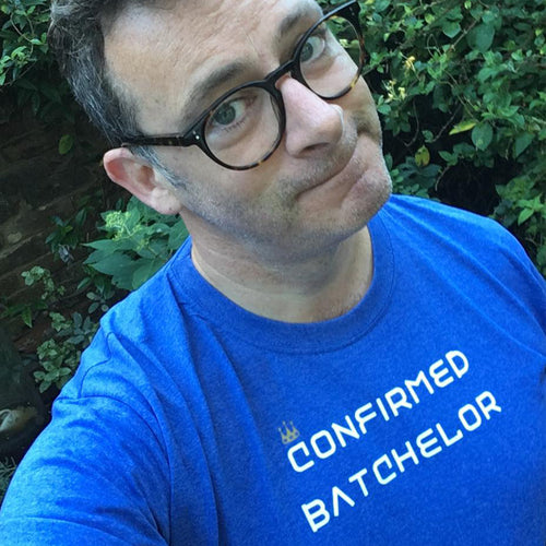 Confirmed Batchelor slogan t shirt
