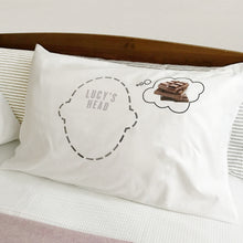 Chocoholic dream bubble Headcase pillowcase