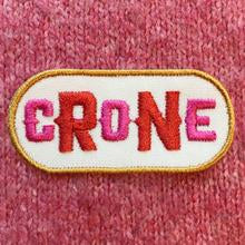 CRONE iron-on clothes patch from the Hag Range