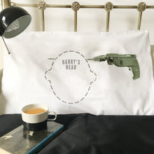 Drill through the head Headcase pillowcase