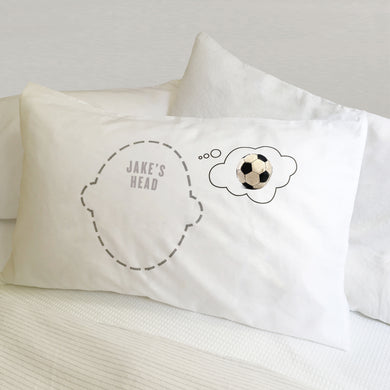 Football Dreams pillowcases for footie fans