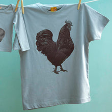 Organic Cockerel men's t shirt