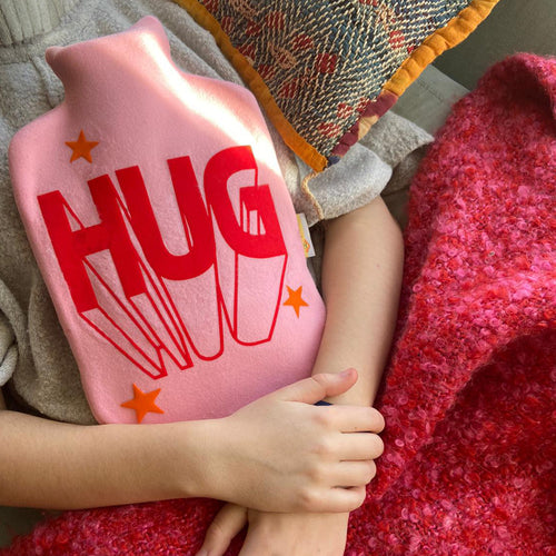 Lockdown Hug Hot Water bottle