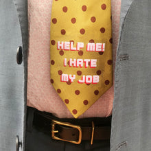 Hidden message ties