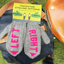 Woolly Indicator mittens for cyclists (OUT OF STOCK)