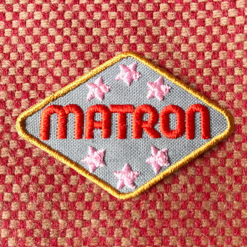 MATRON clothes patch from the Hag Range