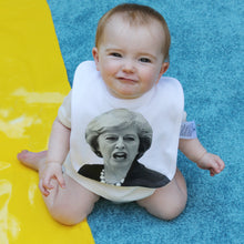 Theresa May political baby bib