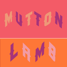 Mutton and Lamb t shirt set for women and their youngens
