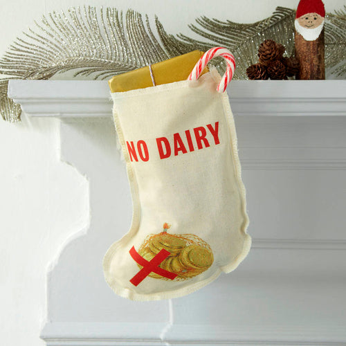 No Diary Christmas stocking