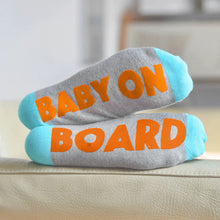 Baby on Board 'Feet Up' socks for pregnant mums and mums-to-be