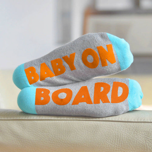 435e7422200a7 Baby on Board 'Feet Up' socks for pregnant mums and mums-to-